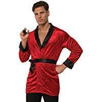 DIY Halloween Costume Idea - Red Smoking Jacket
