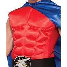 DIY Halloween Costume Idea - Red Superhero Chest