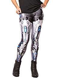 DIY Halloween Costume Idea - Robot Leggings