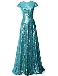 DIY Halloween Costume Idea - Sexy Turquoise Sequin Dress