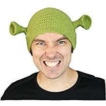 DIY Halloween Costume Idea - Shrek Beanie