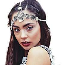 DIY Khaleesi Halloween Costume Silver Hair Jewelry