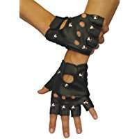 DIY Halloween Costume Idea - Studded Gloves