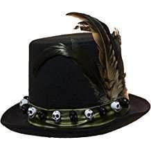 DIY Halloween Costume Idea - Voodoo Hat