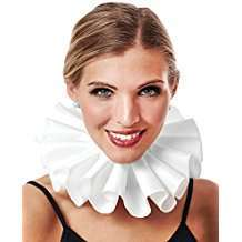 DIY Halloween Costume Idea - White Ruffle Collar