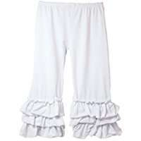 DIY Halloween Costume Idea - White Ruffle Pants