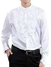 DIY Halloween Costume Idea - White Ruffle Shirt M