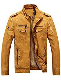 DIY Halloween Costume Idea - Yellow Leather Jacket
