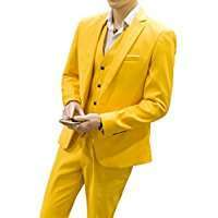 DIY Halloween Costume Idea - Yellow Suit