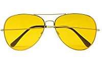 DIY Halloween Costume Idea - Yellow Sunglasses