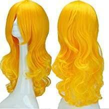 DIY Halloween Costume Idea - Yellow Wig