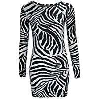 DIY Halloween Costume Idea - Zebra Dress