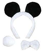 DIY Panda Halloween Costume Idea - Set