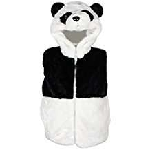 DIY Panda Halloween Costume Idea - Vest