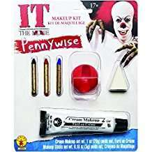 DIY Halloween Costume Idea - Pennywise Make Up Kit