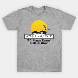 DIY Halloween Costume Idea - River Rafter Shirt