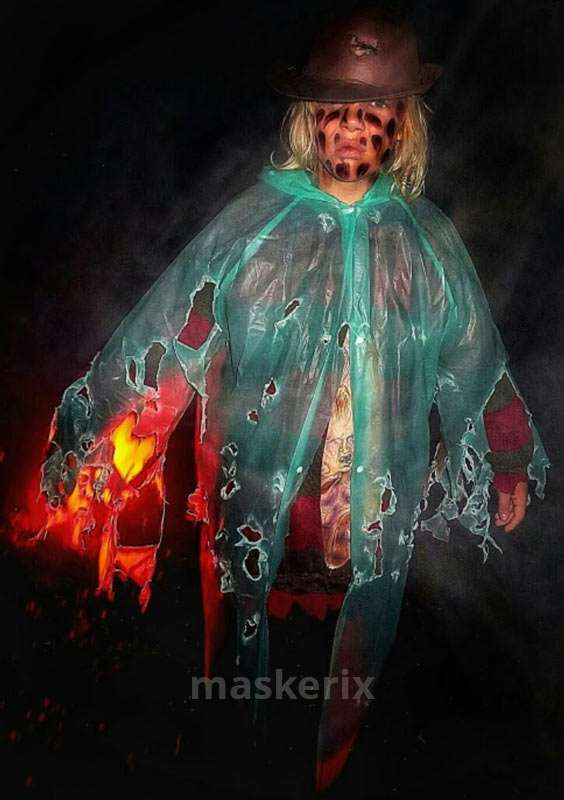 maskerix - DIY Freddy Krueger Halloween Costume Idea