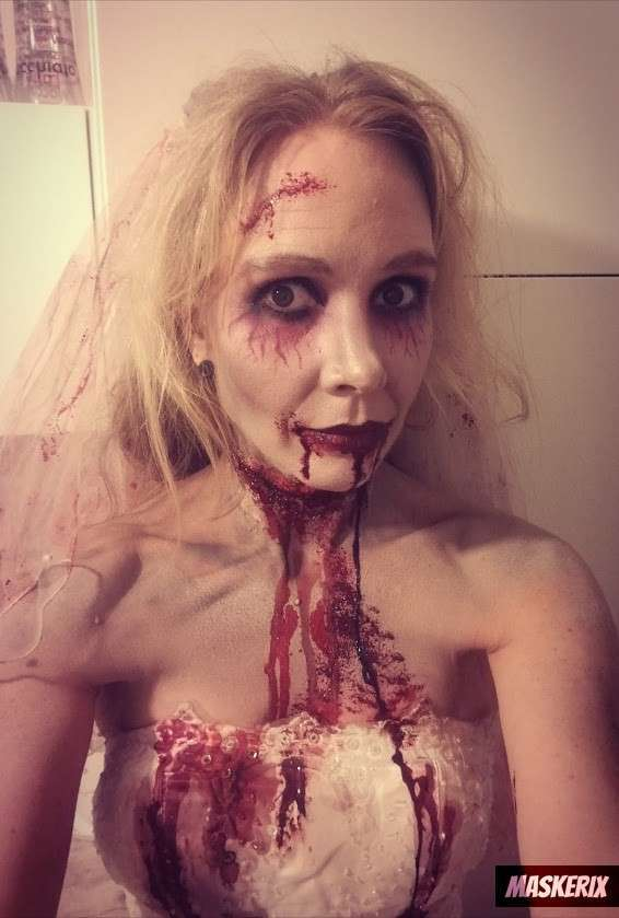 maskerix - DIY Zombie Halloween Costume Idea