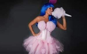 Etsy - DIY Cotton Candy Costume