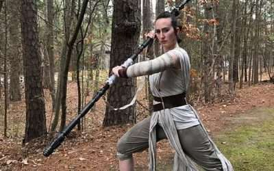 DIY Rey Star Wars Costume