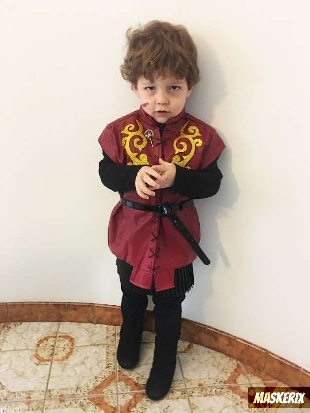 maskerix - DIY Game of Thrones Tyrion Lannister Halloween Costume Idea