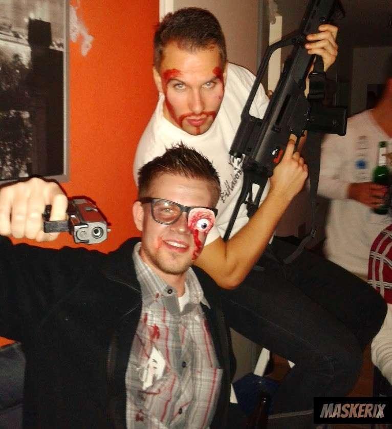 maskerix - DIY Gunmen Halloween Costume Idea