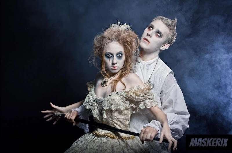 maskerix - DIY Halloween Vampires Costume Idea