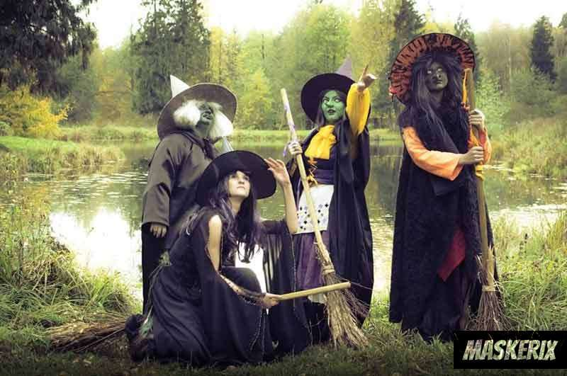 maskerix - DIY Witch Halloween Costume Idea