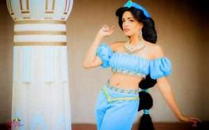Etsy - DIY Aladdin Princess Jasmin Halloween Costume Idea