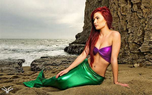 DIY Ariel the little Mermaid Costume