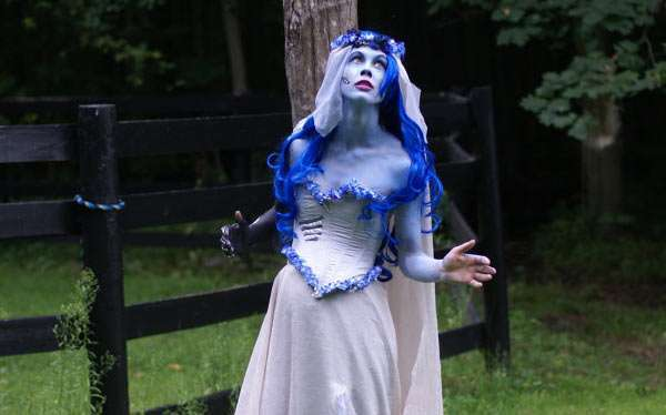 DIY Corpse Bride Emily Costume