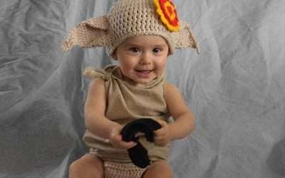 DIY Harry Potter Dobby Costume