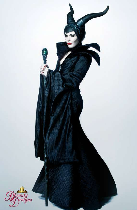 Etsy - DIY Maleficent Halloween Costume Idea