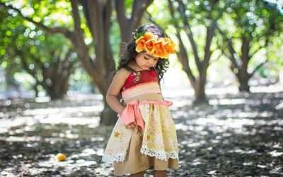 DIY Moana Costume