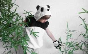 DIY Panda Halloween Costume Idea