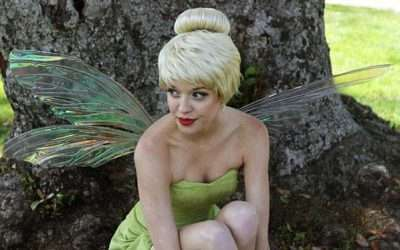 DIY Peter Pan Tinker Bell Costume