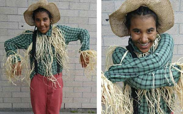 Etsy - DIY Scarecrow Halloween Costume Idea