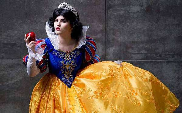 DIY Snow White Costume Idea