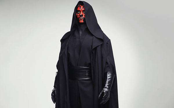 DIY Darth Maul Star Wars Costume