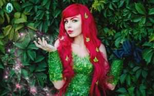 Etsy - Poison Ivy Halloween Costume Idea