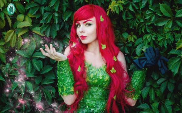 DIY Poison Ivy Costume