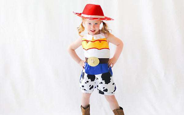 DIY Toy Story Jessie Costume