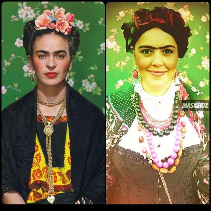 maskerix - DIY Frida Kahlo Halloween Costume Idea