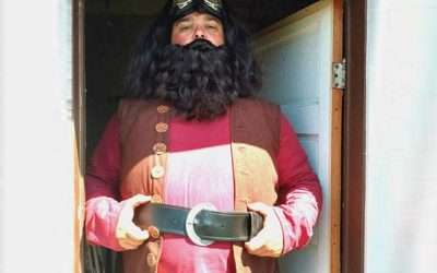DIY Harry Potter Hagrid Costume