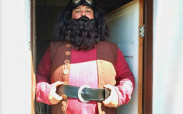 Etsy - DIY Harry Potter Hagrid Halloween Costume Idea