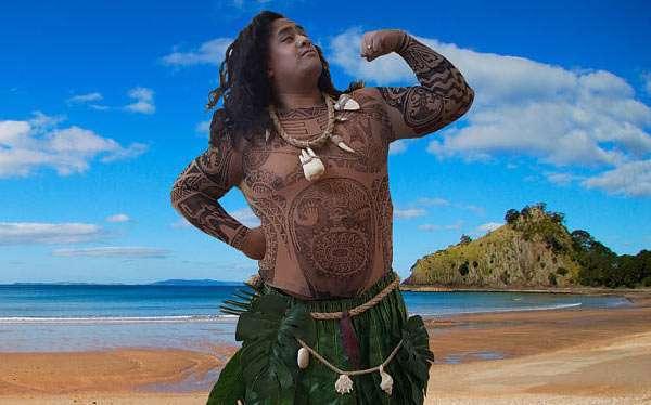 DIY Moana Maui Costume