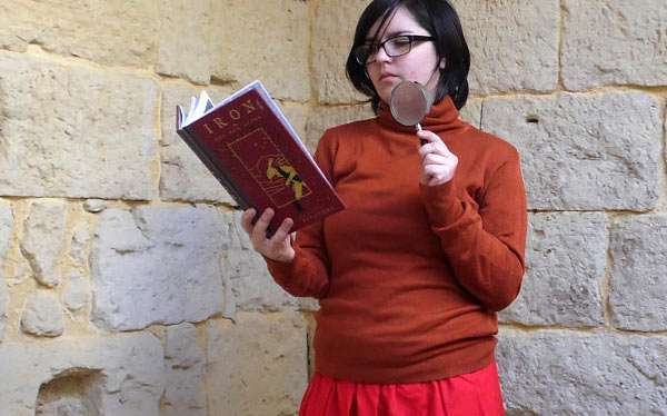 Etsy - DIY Scooby Doo Velma Halloween Costume Idea