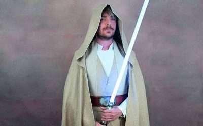 DIY Luke Sykwalker Star Wars Costume