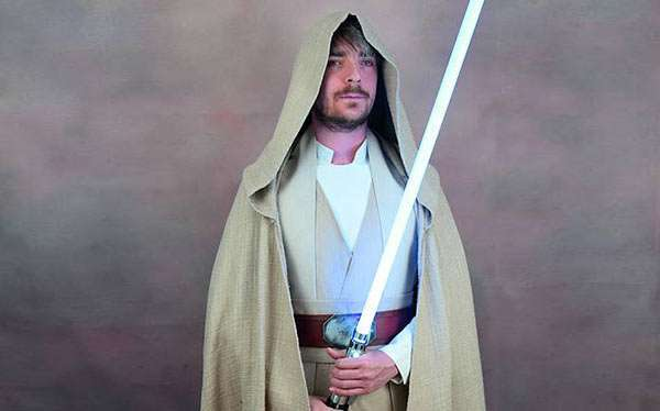 DIY Luke Sykwalker Star Wars Costume