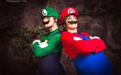 DIY Super Mario & Luigi Costume